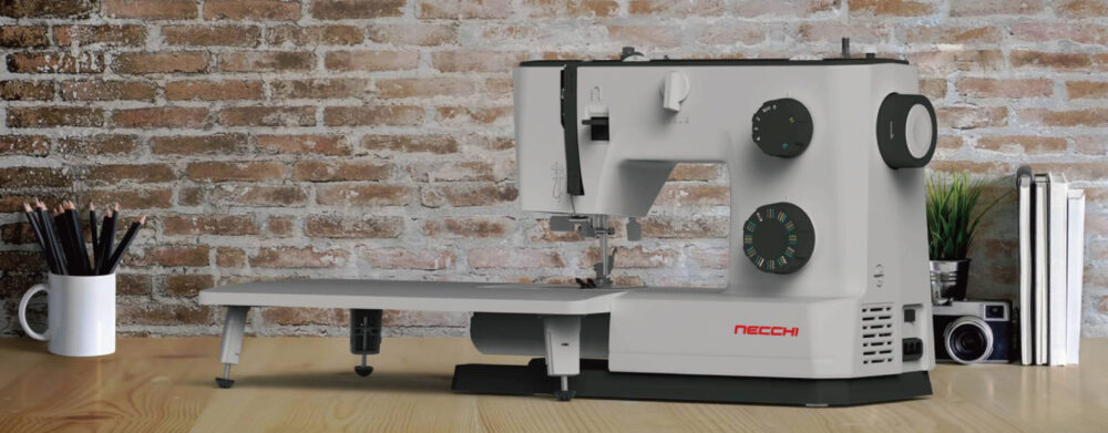 Necchi Q132A with extension table